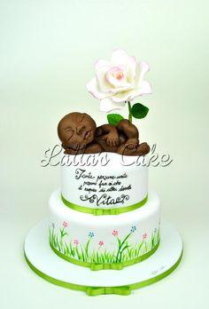 La rinascita/ Rebirth  cake design/pasta di zucchero/ sugar paste