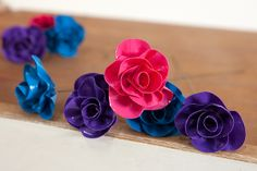 Duct Tape Flowers | Crafts Tutorials Blog - Ideas For Crafts