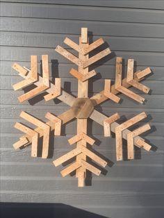 Pallet & lathe Snowflake 4