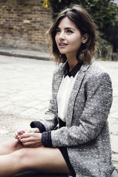 JENNA LOUISE COLEMAN for Flaunt Magazine by Jessie Craig