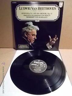 L.V.BEETHOVEN. GRANDES COMPOSITORES Nº 1. LP / PHILIPS. ***/***