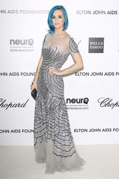 Katy Perry in sparkling Blumarine