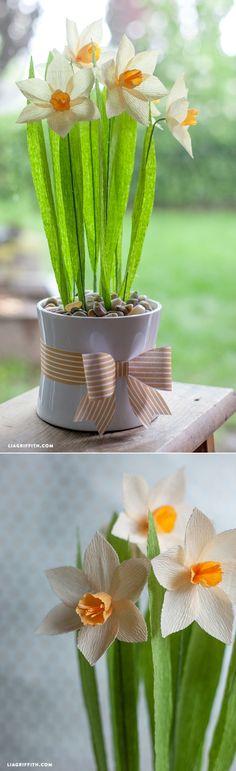 Tutorial para hacer flores utilizando papel crepé. #ManualidadesFiestas