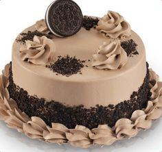 Baskin-Robbins   Double Chocolate Oreo Cake (Fully Decorated)