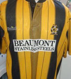 Home, Vandanel. Stripes are back - sort of Cambridge United Fc, Football Shirts, Stripes, The Unit, Tops, Fashion, Moda, Football Jerseys, Fashion Styles