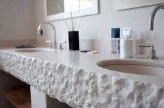 stone countertop with sink