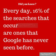 Did you know fact about Google search