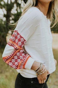 Dannika Textured Sweater
