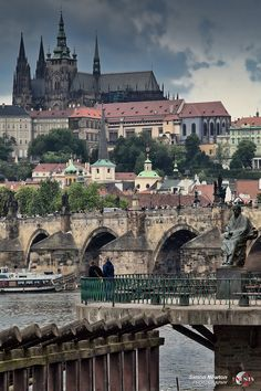 Prague Castle (Czech Republic). 'Looming high above the Vltava's left bank, this outrageously outsized fortress conjures up childhood fairy tales of a good king watching benevolently over his people.' http://www.lonelyplanet.com/czech-republic/prague/sights/castle/prague-castle