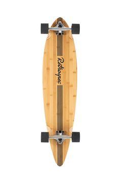 Amazon.com : Retrospec Zed Longboard Pintail Bamboo Long Board Skateboard Cruiser Black Pipeline, One Size : Sports & Outdoors | @giftryapp