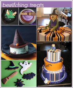 Witch Cake, Cupcakes and Cookies for Halloween  l  The Cake Blog