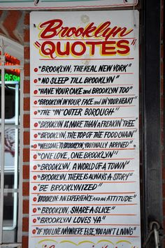 "Brooklyn ""Quotes"""