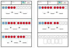 Nueva colección de cartas para trabajar los números hasta el 10 de forma aditiva con ayuda visual. Este recurso está pensado para plastificar y utilizar a modo de pizarra, de forma que los alumnos puedan escribir los números en él. Estas cartas están pensadas para alumnos de educación infantil, con