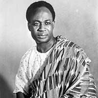 """Ghana was the first black African country to gain independence on the 6th March 1957. Dr Kwame Nkrumah was the first prime minister of Ghana and in his first speech said """"Ghana, your beloved country is free forever"""" He's also a member of Phi Beta Sigma!"""