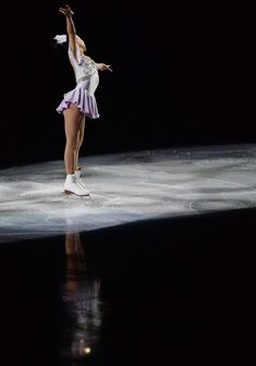 Mai Mihara Photos Photos - Mai Mihara of Japan performs her routine in the Gala exhibition during All Japan Figure Skating Championships at Saitama Super Arena on December 24, 2013 in Saitama, Japan. - All Japan Figure Skating Championships: Day 4