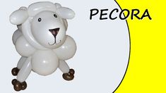 Video tutorial on how to make a sheep with balloons twisting #sheep #farm