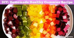 Did you know store bought fruit gummies or fruit snacks are full of GMO sugar, GMO high fructose corn syrup and harmful artificial dyes?