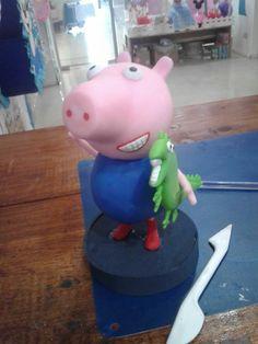 George Pig porcelana fría