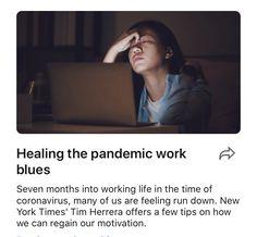 Healing the pandemic work blues | LinkedIn
