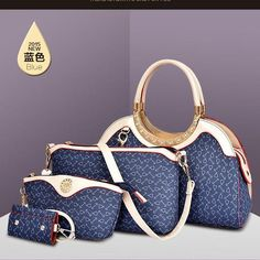 TAS IMPORT KODE: 87798 (4in1)  IDR.228.000  MATERIAL PU  SIZE L33XH18XW13CM  WEIGHT 1000GR COLOR BLUE