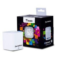 Altavoz Bluetoothportatil blanco Tsubehoa