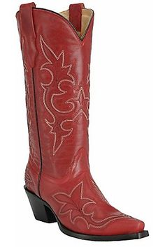 Red boots = a must!