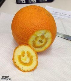 happy orange!