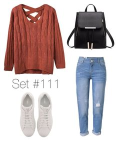 """Baby It's Cold Outside"" by emma-natalie ❤ liked on Polyvore featuring Fendi and WithChic"