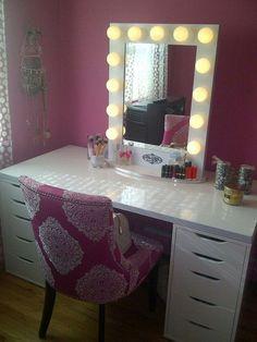 Best DIY Corner Makeup Vanity Bedroom Ideas Pinterest Corner