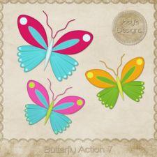 Butterfly Action 07 by Josy #CUdigitals cudigitals.com cu commercial digital scrap #digiscrap scrapbook graphics