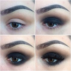 Perfect look for the girl that loves sultry eyes.