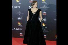 """Deslumbrante esse vestido preto longo. Marion brilhou toda a sua classe francesa"", Karina Attilio r... - Foto: Instagram"