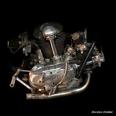 No 2: CLASSIC DUCATI 750SS MOTORCYCLE ENGINE   by Gordon Calder