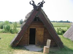 oute side viking hut by *daylover1313 on deviantART