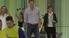 Prince Harry arrives in Brazil to begin a week-long tour of South America | Mail Online