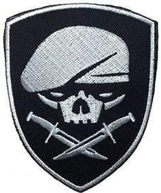 Patch Squad Men's Medal of Honor Skull Berets Special Forces Military Armband Patch http://www.99wtf.net/young-style/urban-style/college-student-clothes-ideas-fashion-2016/