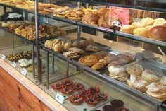 A mouth-watering display of sweet things at Tartine. Image by Hannah Summers / Lonely Planet
