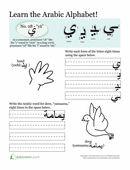 Arabic Alphabet: Yā'