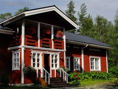 Holiday Village Loma-Vietonen in Ylitornio in Lapland Finland