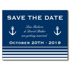 =>Sale on          	Save the date wedding postcard | Nautical theme           	Save the date wedding postcard | Nautical theme We have the best promotion for you and if you are interested in the related item or need more information reviews from the x customer who are own of them before please f...Cleck Hot Deals >>> http://www.zazzle.com/save_the_date_wedding_postcard_nautical_theme-239340997683544644?rf=238627982471231924&zbar=1&tc=terrest