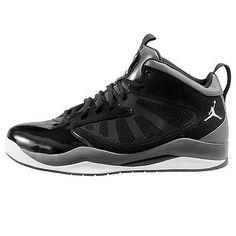 Nike Jordan Flight Team 11 Mens 428777-004 Black Grey Basketball Shoes Size  11.5