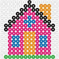 Biggie Beads House 2 Project Sheet