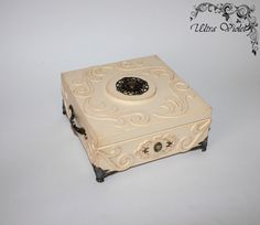 Exclusive Casket, box, boxes, box, wood, for jewelery