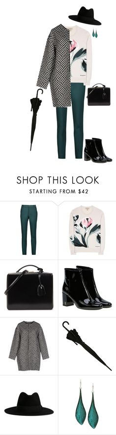 """""""Spring style inspo"""" by ootd-catalogue ❤ liked on Polyvore featuring Raoul, Burberry, Mark Cross, Yves Saint Laurent, Alice + Olivia and Robert Lee Morris"""