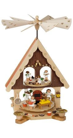 Gorgeous christmas pyramid 'The Dome' with 3 floors (143cm/56in ...