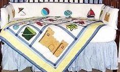 Summer Fun Crib Bedding Set  http://littletikebedding.com/pro1225744.html