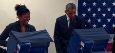 वाशिंगटन। सोमवार को शिकागो में अमरीका के राष्ट्रपति बराक ओबामा के साथ कुछ ऎसा हुआ जिसकी उन्होंन