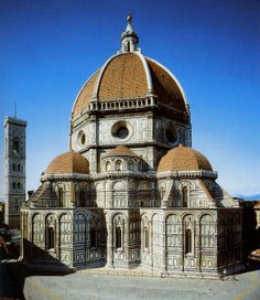 Florence Cathedral from the east. #architecture #florence