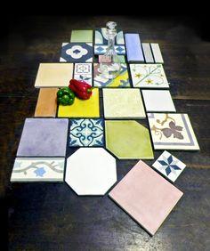 Cada piso o muro revestido con Baldosas Córdova es particular, no hay uno igual a otro. Se trata de proyectos a medida, productos hechos a mano e instalados por artesanos. Puedes elegir formatos, colores y diseños que tu quieras.