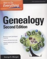 Fully updated and revised, this bestselling genealogy guide helps you tap into the wealth of global ancestry records and offers proven strategies for both traditional and electronic research.